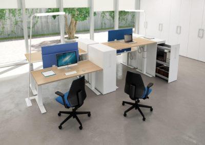 IDEA : Bureaux assis-debout