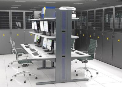 Mobiler informatique pour salle serveurs