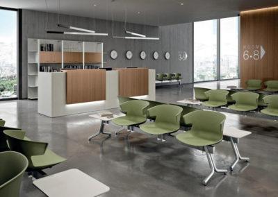 OFFICITY : chaises pour espaces d'accueil