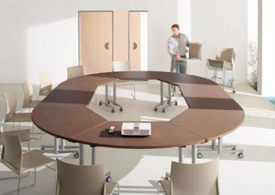 TANG : table de réunion modulaire
